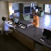Установка камер видеонаблюдения в банке