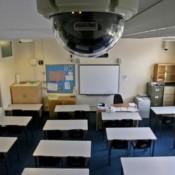 Установка видеонаблюдение в школе