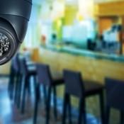 Установка видеонаблюдения в ресторане