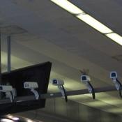 Установка камер видеонаблюдения на объекте