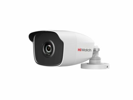 1Мп цилиндрическая HD-TVI видеокамера HiWatch с EXIR-подсветкой до 40 м - DS-T120