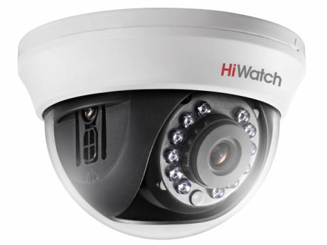 2Мп купольная HD-TVI видеокамера с ИК-подсветкой до 20м - DS-T201