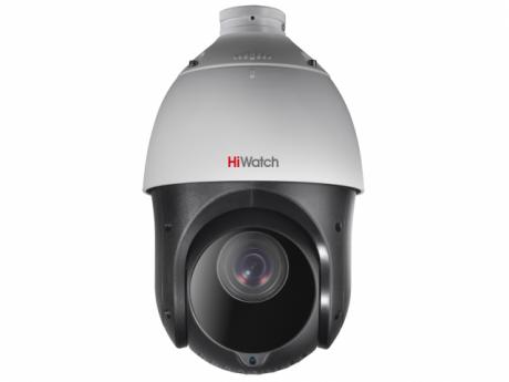 2Мп уличная скоростная поворотная IP-камера HiWatch с EXIR-подсветкой до 100м - DS-I215