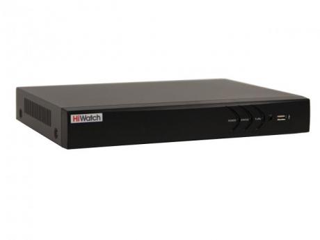 гибридный HD-TVI регистратор DS-H204U(B) (4-канальный)
