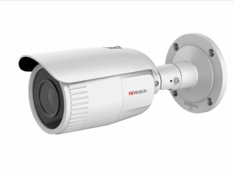 4Мп цилиндрическая IP-видеокамера HiWatch с EXIR-подсветкой до 30м - DS-I456