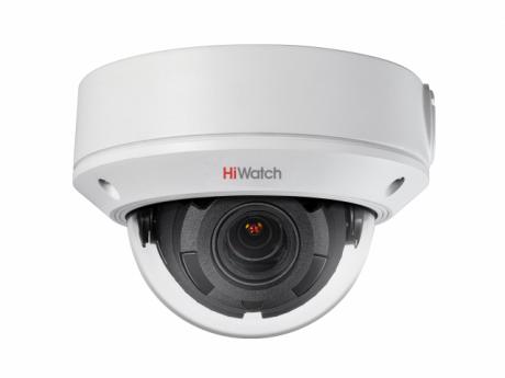 4Мп купольная IP-видеокамера HiWatch с EXIR-подсветкой до 30м - DS-I458