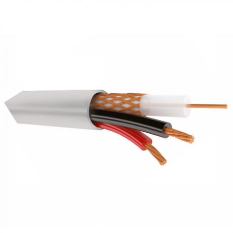 КВК-2В 2х0,75 кабель для видеонаблюдения